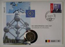 Numisbrief 2 Euro Gedenkmünze, Belgien 2006, Atomium Brüssel , selten &limitiert