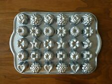 Nordic Ware Bundt Tea Cake & Candies NonStick Baking Mold Pan Cast Aluminum 30