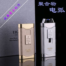 1PC Tiger USB rechargable arc windproof lighter high-end and unusual lighter