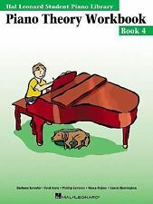 Hal Leonard Student Piano Library Piano Theory Workbook: Book 4 (Softcover)