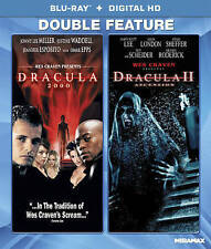 Dracula 2000 + Dracula II NEW Bluray disc/case/cover only-no digital double feat