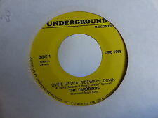 YARDBIRDS Crossroads / over under sideways down UNDERGROUND RECORDS CANADA 1068