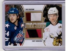 ZACK KASSIAN CODY HODGSON 11/12 ITG H&P Rookie Dual Jersey GOLD /10 Canucks
