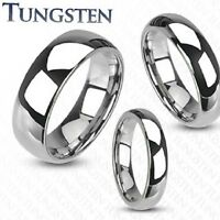 NEW TUNGSTEN CARBIDE WEDDING RING BAND MIRROR POLISHED MENS LADIES MATCHING