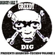 ANARCHO-TECHNO VOLUME 2 COMPILATION CD (CRASS / ANARCHO) PUNK - TECHNO