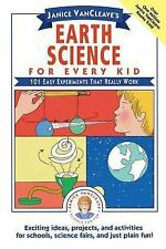 Science for Every Kid: Vancleave's - Earth Science for Every Kid: 101 Experiment