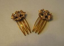 Antique style hair combs for French or German bisque or vintage fashion doll