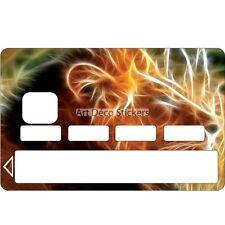 Stickers Autocollant Skin Carte bancaire CB Lion 1077 1077