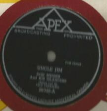 78 Rpm Record Don Messer Uncle Jim on APEX
