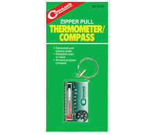 Coghlan's 9714 Zipper Pull Thermometer Compass- Camping Hiking Tactical Survival