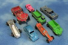 Vintage Lot of 8 Tootsie Toys Cars and Trucks