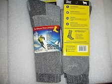 Men's Premium Merino Wool Socks, 4 Pair, size 10-13 CUSHIONED SOFT WARM COMFY