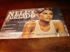 NELLY FURTADO TURN THE LIGHT!!!!!!RARE FRENCH PRESS/KIT