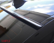 Painted Black Fit 2008-2012 HONDA ACCORD 4D SEDAN-Rear Window Roof Spoiler 11 10