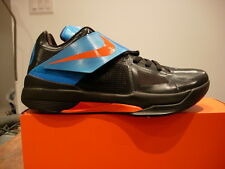 Nike Zoom KD IV,  Basketball Durant Black/Blue, Mens 13