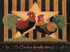 Cock-A-Doodle-Doo by Jo Moulton Kitchen Art Chicken Rooster Open Edition Print