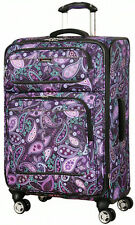 "Ricardo Beverly Hills Mar Vista 24"" 4 Wheel Expand Upright Luggage - Purple Pais"