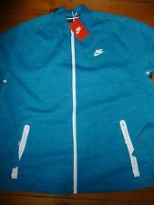 NIKE FC TECH FLEECE N98 LIGHT BLUE LACQUER ZIP TRACK JACKET NEW SIZE XXL 2XL
