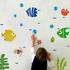 Creative Kids Favorite Fish Bubble Room Wall Sticker Home Bathroom Decoration