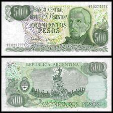 Argentina 500 PESOS SERIE C ND (1977-82) P 303c UNC