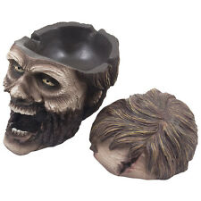 Evil Undead Zombie Ashtray Spooky Halloween Decoration Statue Gothic Decor Gifts