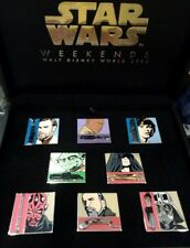 WDW Star Wars Weekends 2006 - Boxed 8 Pin Set