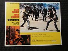 "1973 SHOWDOWN Original 14x11"" Lobby Card #1 2 8 VG/FN 5.0 LOT of 3 Dean Martin"