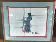 Amado Maurilio Pena(Pascua Yaqui Tribe of Arizona)Double Signed Lithograph-1989