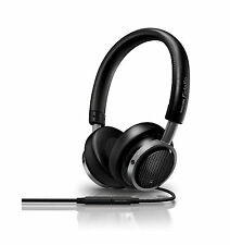 Philips M1/28 Fidelio On-Ear Headphones with Remote and Mic Black Discontinued