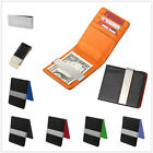 Buy 2 Get 1 Free Personalized Engravable Metal Leatheroid Blk Wallet Money Clip