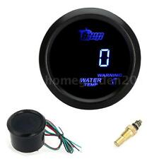 "Digital Water Temperature Meter Gauge for Car 52mm 2"" LCD 40~120Celsius D4Q3"