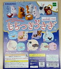 Miniatures Rabbit With Japanese Sweets 6pcs - Epoch  , h#4