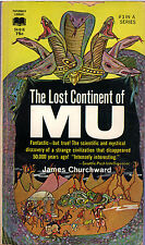 James Churchward THE LOST CONTINENT OF MU pb 1968 Ancient World Vintage-Good
