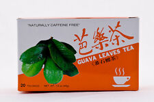 4 BOXES KINGINSENG 100% NATURAL GUAVA LEAVES TEA 80 TEABAGS FAST SHIPPING!