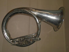 Vintage USSR Brass Pipe Tuba Helicon in B for restoration