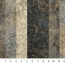 """Slate"" Graduations-Stonehenge Col.-Northcott-5 Different Stripes-BTY"