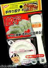Dumpling Mold Press Maker Pierogi Wonton Ravioli Gyozai kitchen Mould Cutter Kit