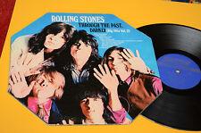 ROLLING STONES LP THROUGH THE PAST..1°ST ORIG USA 1979 EX COPERTINA OTTAGONALE !