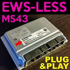 BMW Replacement DME ECU with EWS DELETE TUNE for 325i 325xi 330i and X5 MS43 M54