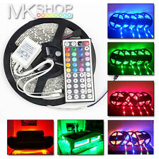 5m 16.4 ft 300led 3528smd Rgb Cambio De Color Multicolor Tira De Luz + Remoto Ir
