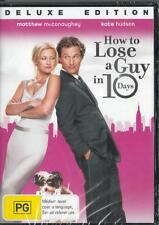 HOW TO LOSE A GUY IN 10 DAYS - NEW & SEALED REGION 4 DVD - FREE LOCAL POST