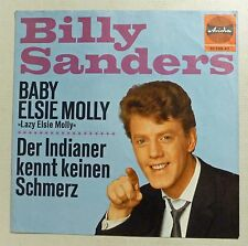 "COVER ONLY - BILLY SANDERS ""Baby Elsie Molly"" D 60er ARIOLA ps VG++"