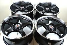 16 Drift Rims Wheels Forte Sonata Celica Golf Camry Forester Civic 5x100 5x114.3
