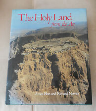 1987 THE HOLY LAND FROM THE AIR-ELON/NOWITZ-EXCELLENT 143 PAGES