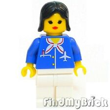 M427 Lego City Airplane Century Skyway Crew Female Minifigure 10159 6597 NEW