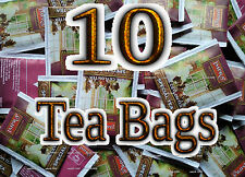 CEYLON TEA - 10 ENVELOPED TEA BAGS- IMPRA SPECIAL TEA -FREE 2 EARL GREY TEA BAGS