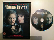 The Bourne Identity - Richard Chamberlain - 1988 Original - UK Release - VGC