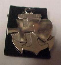 Charm-Vintage-Sterling-Religious with Signs of Faith,Hope & Charity   -14726C
