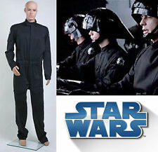 Star Wars Imperial Tie Fighter Pilot Flightsuit Uniforme Jumpsuit *Sur Mesure*