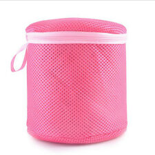 Women Bra Laundry Lingerie Washing Hosiery Saver Protect Mesh Round Laundry Bags